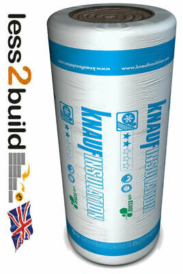 Isover Loft Insulation Spacesaver Roll Glass Mineral 100, 150 and 200mm