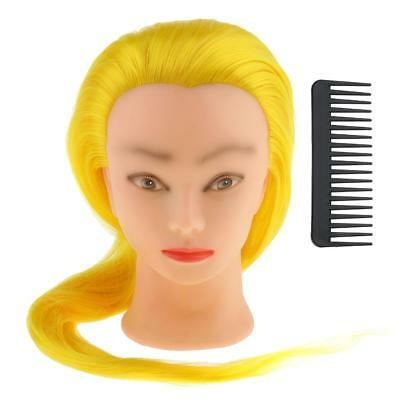 Salon Stylist Cosmetology Mannequin Pratice Head Long Hair Training Head