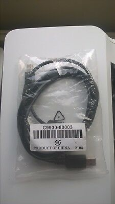 C9930-80003 Genuine Hp 2M Scanner Usb A-B High Speed Interface Cable Black G2710