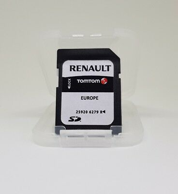 renault tomtom carminat megane sd card europe uk sat nav map 2017 25920 6279 r eur 33 09. Black Bedroom Furniture Sets. Home Design Ideas
