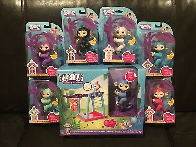 *Genuine* WowWee Fingerlings Electronic Interactive Finger Pet Toys Baby Monkey