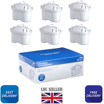 6 x Pack of Water Filter Cartridges for BRITA MAXTRA JUGS