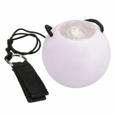 LED white-Colored Glow Thrown Balls Light Up For Belly Dance Hand Props SS