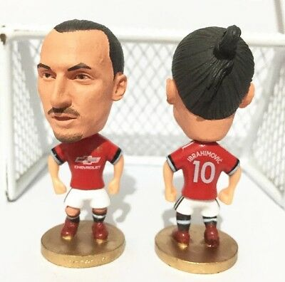 Zlatan Ibrahimovic Action Figure Soccer Football Manchester United Toy Gift UK