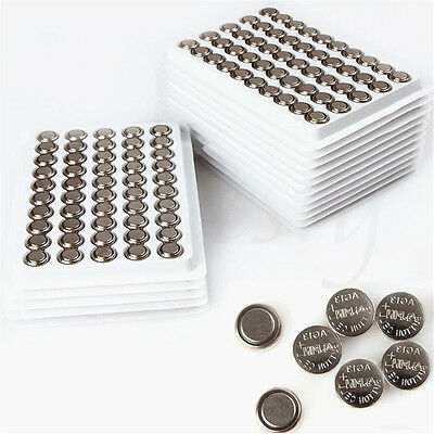 10/20/50Pcs 1.55V AG13 LR44 303 Watch Calculator Remote Button Coin Cell Battery