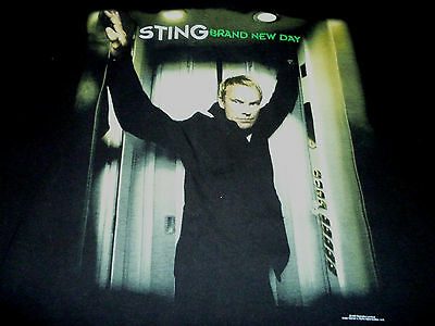 Sting 1999 Vintage Tour Shirt ( Used Size XL ) Nice Condition!!!