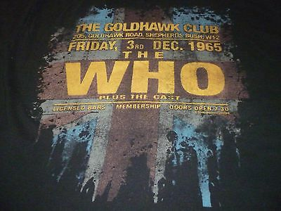 The Who Shirt ( Used Size XL ) Very Good Condition!!!
