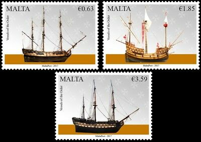 Malta Stamps MNH Maritime Series V Issued 29th September 2017