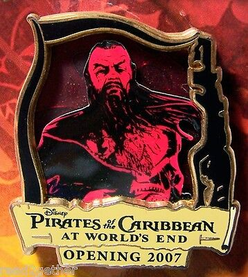 Sao Feng At World's End Pirates of the Caribbean Disney Pin
