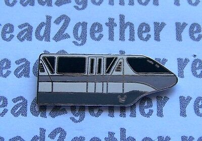 Disney Pin WDW Hidden Mickey Collection Monorail Silver