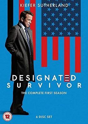 Designated Survivor Season 1  with Kiefer Sutherland New (DVD  2017)
