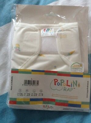 BN (Like Motherease Rikki) Wrap By Popolini Large 18-33lbs Unwashed, Unused
