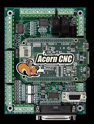 CNC Motion Controller Centroid Acorn Control kit, Mach3 Mach4 Mill upgrade Kit