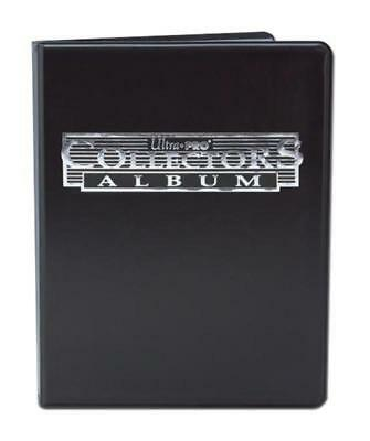 Collectors Album 9 Pocket | Black | Ultra Pro | Holds 180 Cards  | BRAND NEW