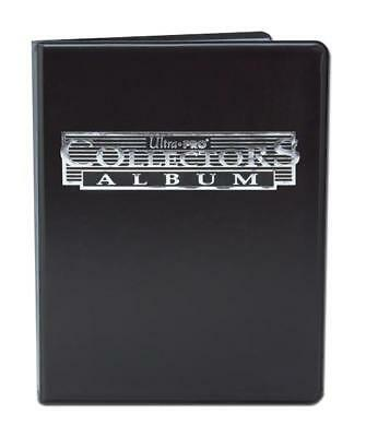 Collectors Album 4 Pocket | Black | Ultra Pro | Holds 80 Cards  | BRAND NEW