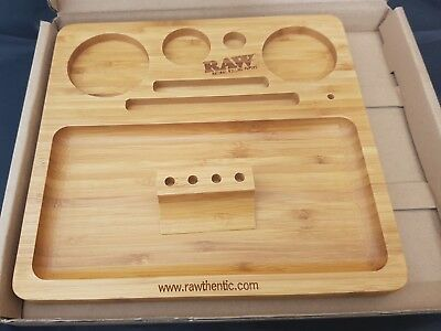 RAW Brand Wooden Bamboo Rolling Tray