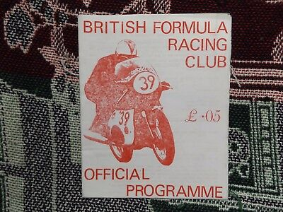 1971 Snetterton Programme 6/3/71 - Motor Cycle Road Races