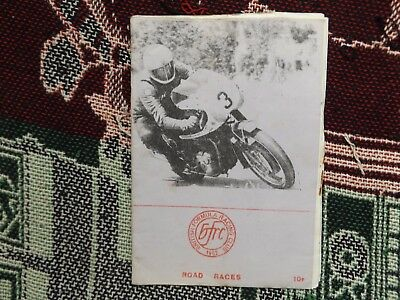1974 Snetterton Programme 21/4/74 - Motor Cycle Road Races