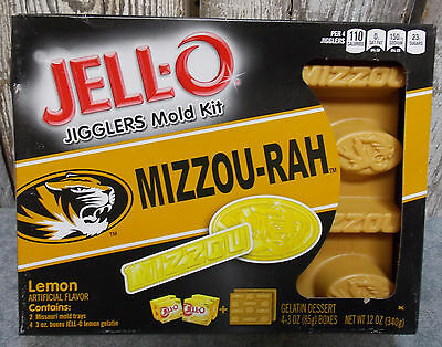 "Missouri ""mizzou-Rah""jello Jiggler Mold Kit Tailgating Jello Shots Lemon"