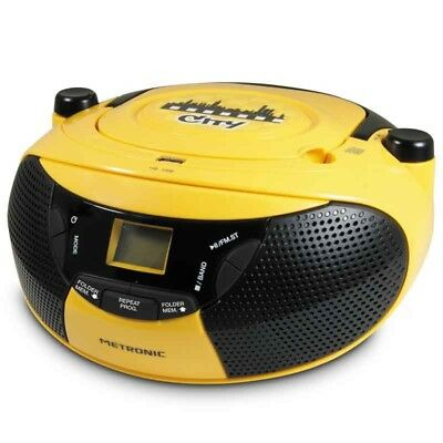 Metronic Radio CD-MP3 City - Boombox - 6 Watt