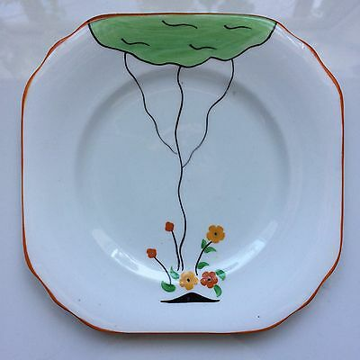 Duchess Pottery - Art Deco Plate - Hand Painted