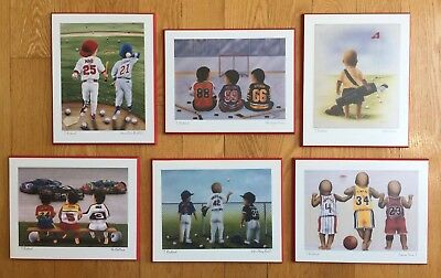 6 Baby Boy Nursery Pictures  - T Richards Nascar/baseball/basketball/golf/hockey