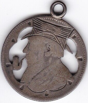 1892 South Africa Shilling Trench Art***Collectors***Silver***