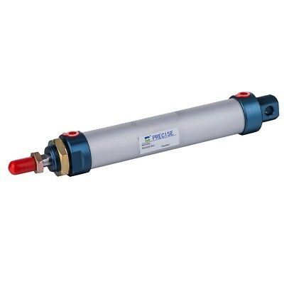 """32mm Bore 200mm Stroke 1/8"""" NPT Magnetic Piston Double Acting Round Air Cylinder"""