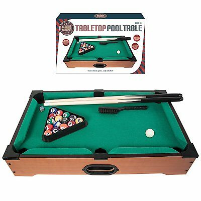 Benross Global Gizmos 80390 Deluxe Table Top Pool/Snooker Table Game