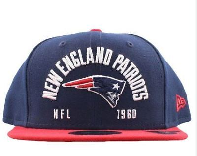 New England Patriots Hat NFL New Era Establisher 9FIFTY Snapback Men's Cap Navy