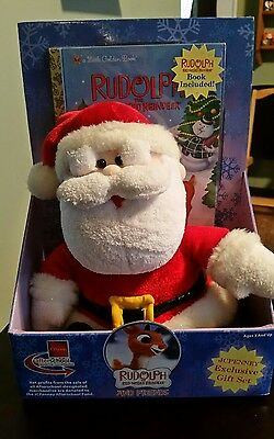 Rudolph Red-nosed Reindeer Island of Misfit Toys Santa Claus Gift Set