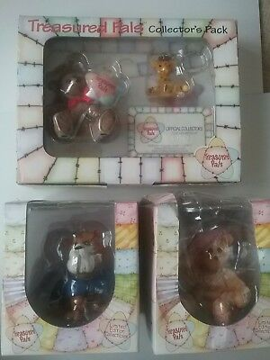 Treasured Pals collectors pack and 2 special editions spike bulldog elizabeth