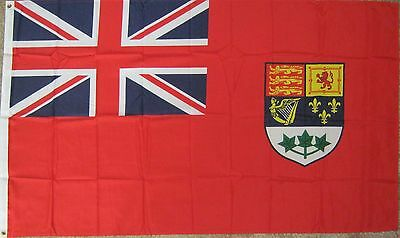 New 3' x 5 Old Canada Flag (1921-1957) Canadian Red Ensign. Free Ship in Canada!