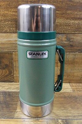 Green STANLEY Wide Mouth 24 oz Stainless Steel THERMOS