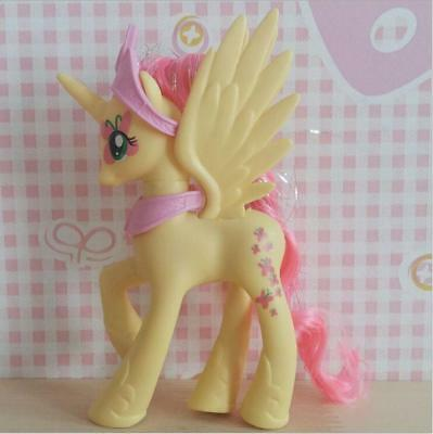 14cm(5.5in) Princess Fluttershy My Little Pony Pvc Doll Action Figure Toy