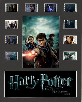 Harry Potter And The Deathly Hallows Pt 2 Film Cell Presentation 10 x 8 Mounted