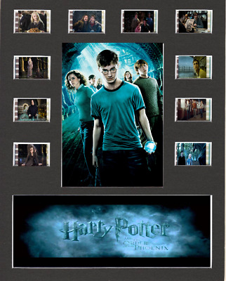 Harry Potter And The Order Of The Phoenix Film Cell Presentation 10 x 8 Mounted