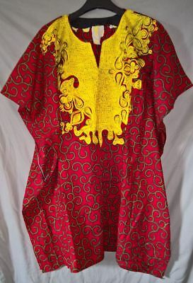 Stunning Traditional African Senator Style Hitarged Dress - size XL