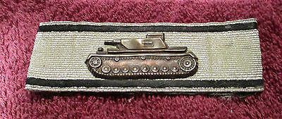 Panzer Destruction Badge in Silver, Original, German