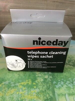 Niceday Phone Cleaning Wipes Pack 50