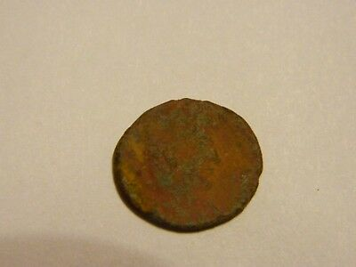Very Old Unknown Ancient Coin --- Lot # 3158