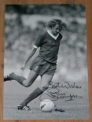 Phil Thompson signed photo with original authentic autograph LIVERPOOL