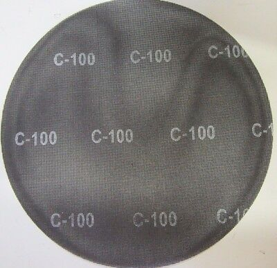 "Scrubble by ACS 32044 17"" Floor Buffer Sanding Mesh Screen Disc 100 Grit - 10/Cs"