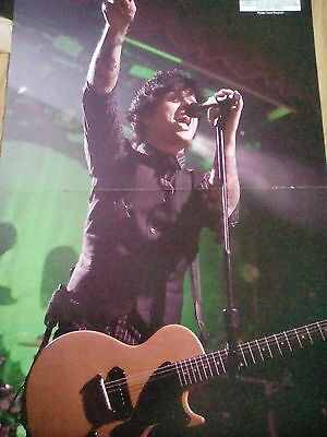 Green Day Billie Joe BJA Double Page Poster from Kerrang or AC/DC