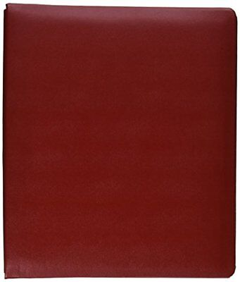 Pioneer Photo Albums 20-Page Family Treasures Deluxe Red Bonded Leather Cover...