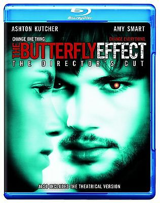 Blu Ray THE BUTTERFLY EFFECT  Director's Cut. Region free. New sealed.