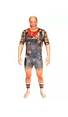 NEW HALLOWEEN Morphfauxreal Costume Hillbilly Redneck Pequenaud Morphsuits XL