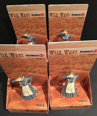 Schleich NEW Wild West Mother Figure 70312 Lot of 4