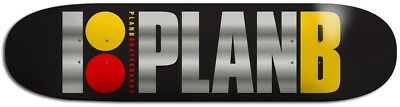 "Plan B - Team OG Black Ice 8.25"" Skateboard Deck"