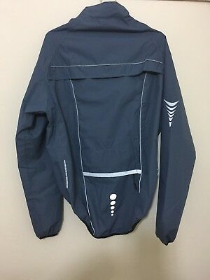 Cycling Outdoor, Gym Sports  Steel Blue  Waterproof Jacket   Size Small